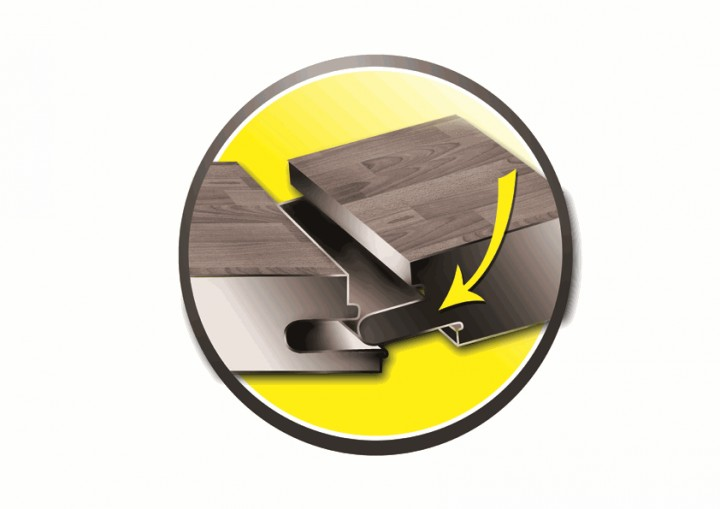 gerflor creation 70 travertine stone klick design bodenbelag in steinoptik. Black Bedroom Furniture Sets. Home Design Ideas